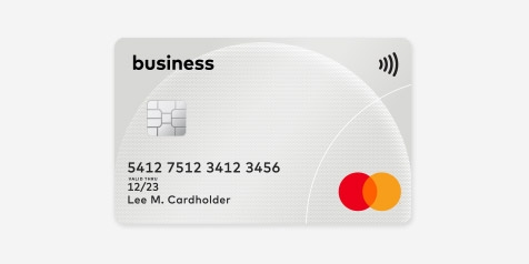 Business Mastercard card